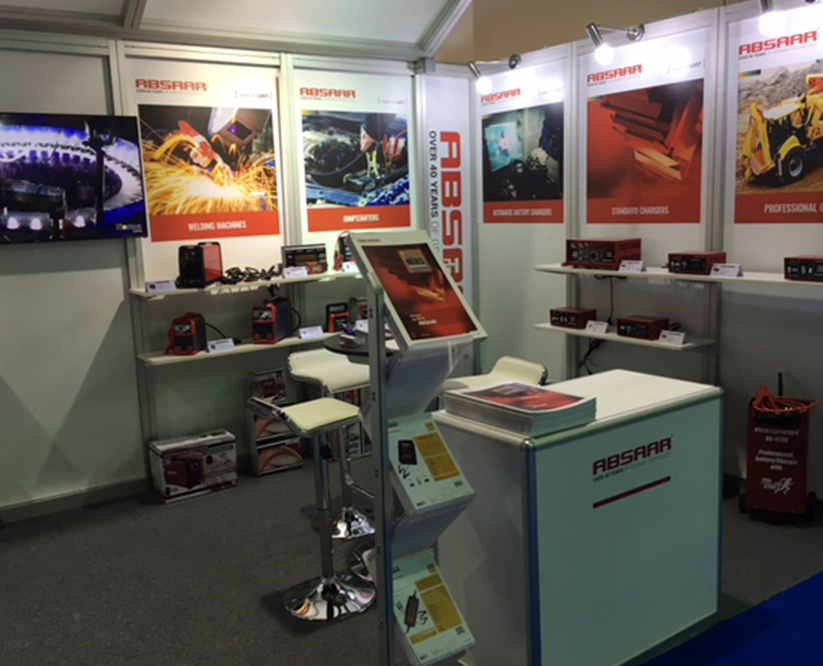 Absaar booth Dubai 2016 Automechanika