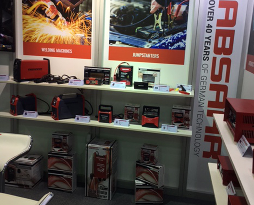 Absaar booth Dubai 2016 Automechanika II