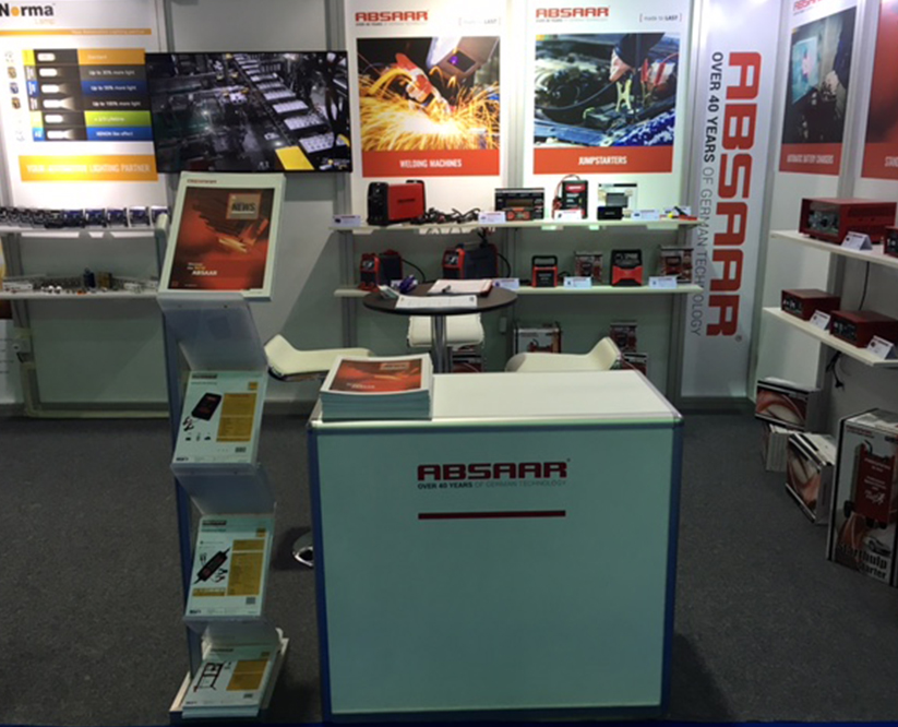 Absaar booth Dubai 2016 Automechanika IV