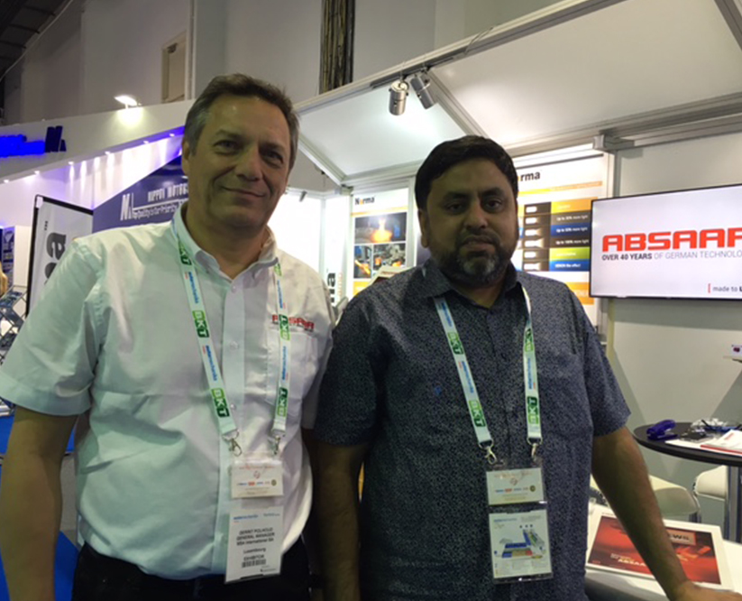 Absaar booth Dubai 2016 Automechanika customer