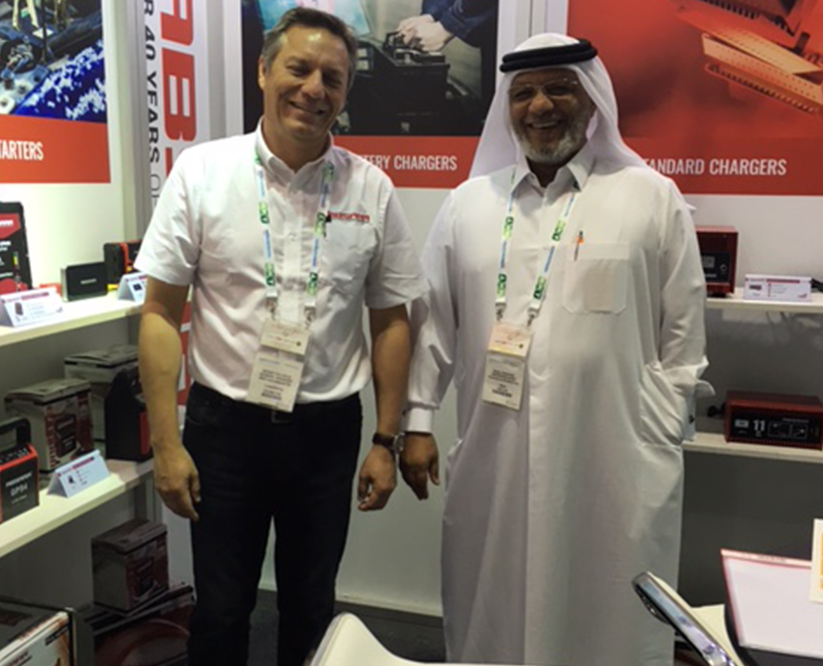 Absaar booth Dubai 2016 Automechanika customer II